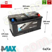 4MAX 100Ah R+ 800A