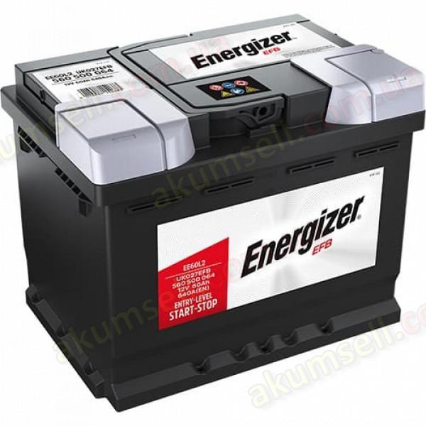 ENERGIZER START-STOP 60Ah R+ 640A EFB