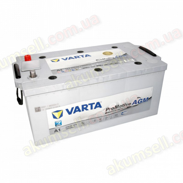 VARTA Silver (A1) 210Ah L+ 1200A AGM