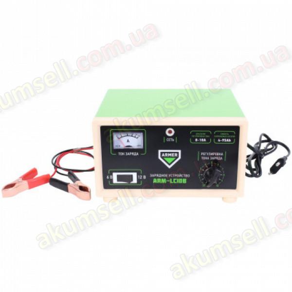 зарядное устройство ARMER 10A 6/12V (ручное управление)