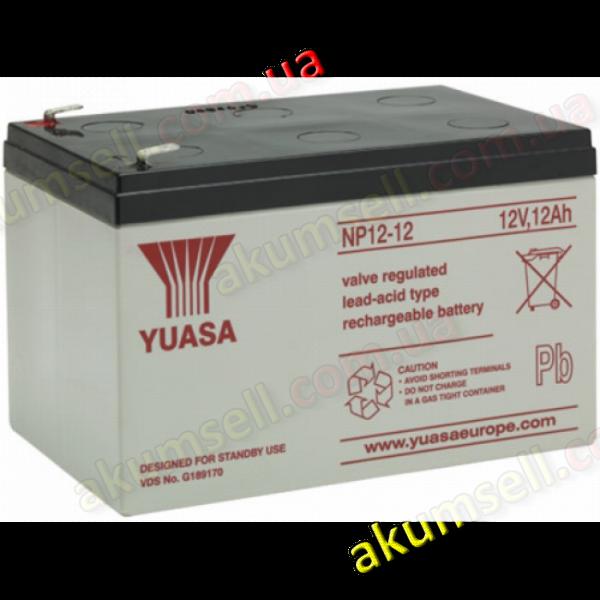 YUASA 12V 12Ah/20Hr (GEL)