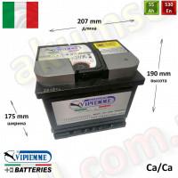 VIPIEMME 55Ah R+ 530A (+30% Safe Energy)