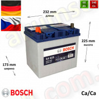 BOSCH S4 (025) 60Ah L+ 540A (ASIA)