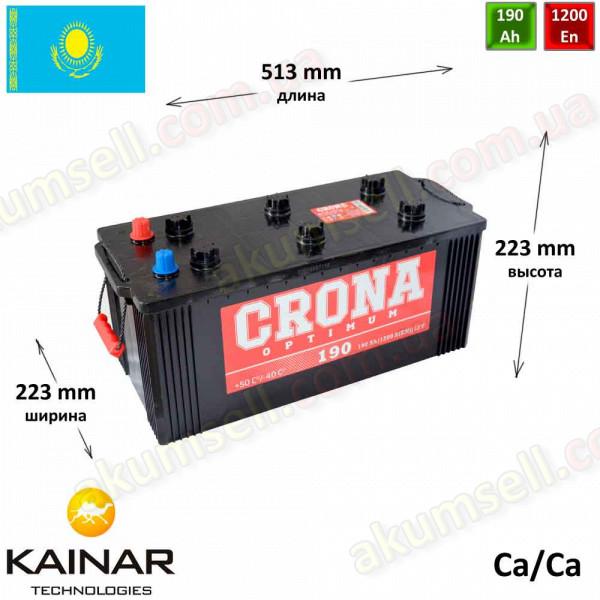 CRONA 190Ah L+ 1200A