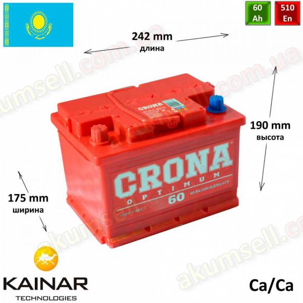 CRONA 60Ah L+ 500A