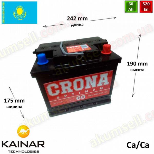 CRONA 60Ah R+ 520A