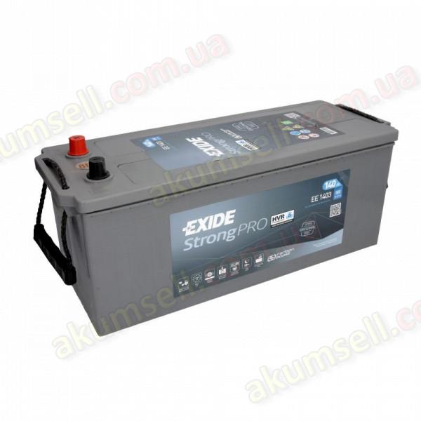 EXIDE Strong PRO 140Ah L+ 800A