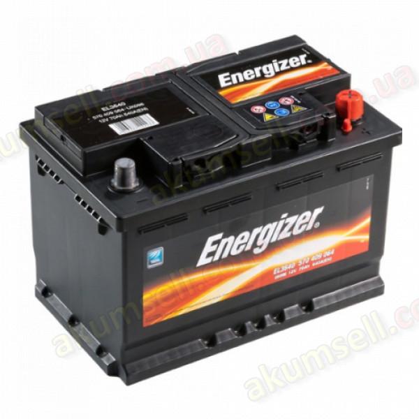 ENERGIZER Plus 70Ah R+ 640A