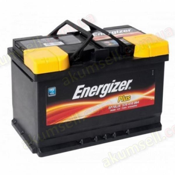 ENERGIZER Plus 70Ah L+ 640A