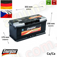 ENERGIZER Premium 100Ah R+ 830A