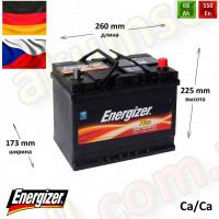 ENERGIZER Plus 68Ah L+ 550A (ASIA)
