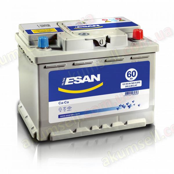 ESAN 60Ah R+ 540A