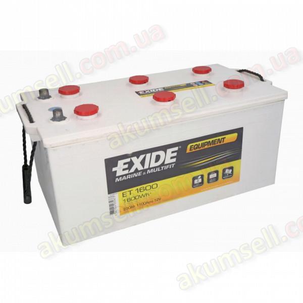 EXIDE Marine 230Ah L+ 1100A EQUIPMENT (1600Wh)