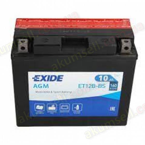 EXIDE 10Ah L+ 160A (AGM)