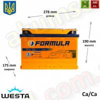 FORMULA 75Ah R+ 680A