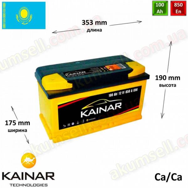 KAINAR Standart+ 100Ah R+ 850A