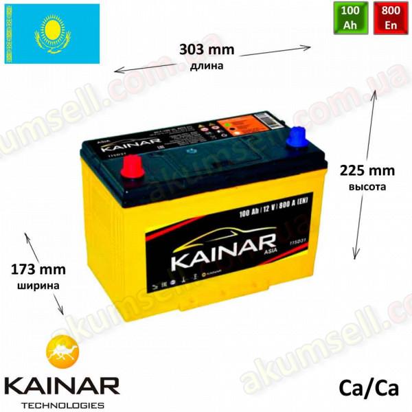 KAINAR Standart+ 100Ah L+ 800A (ASIA)