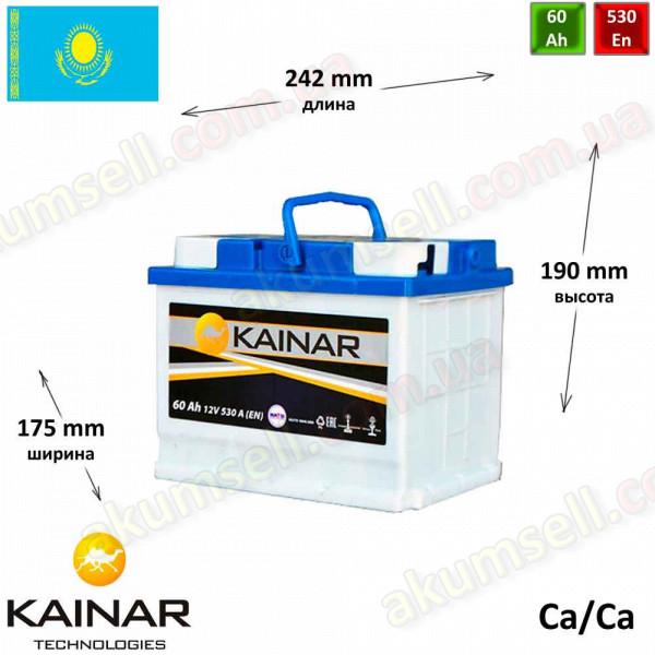 KAINAR Standart+ 60Ah R+ 550A