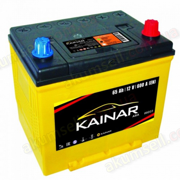 KAINAR Standart+ 65Ah R+ 600A (ASIA)