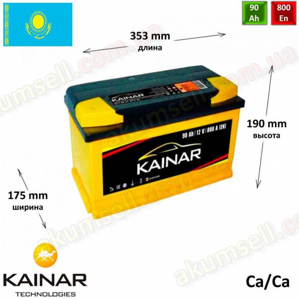 KAINAR Standart+ 90Ah R+ 800A