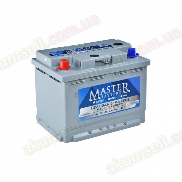 MASTER 60Ah R+ 510A