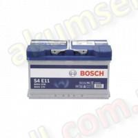 BOSCH START-STOP S4 (E11) 80Ah R+ 800A (EFB)