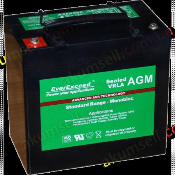 EverExceed 72Ah (VRLA AGM) ST-1265
