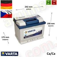 VARTA Blue (D24) 60Ah R+ 540A