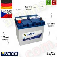 VARTA Blue (D48) 60Ah L+ 540A (ASIA)