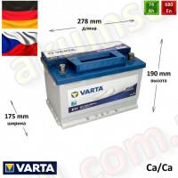 VARTA Blue (E11) 74Ah R+ 680A