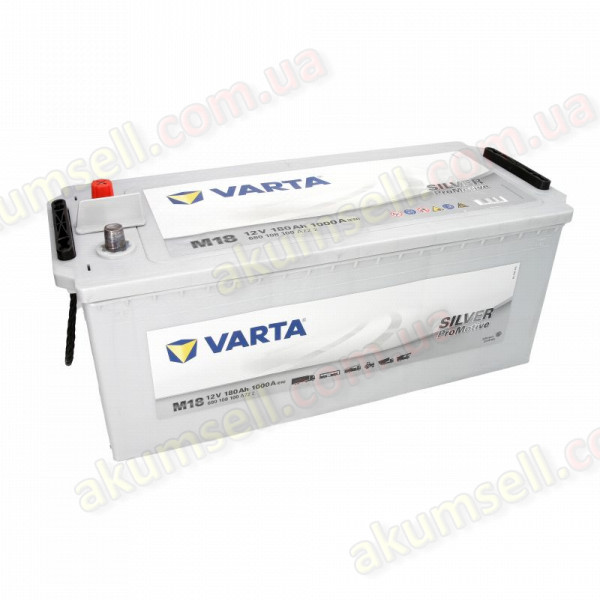 VARTA PROMOTIVE Silver (M18) 180Ah L+ 1000A