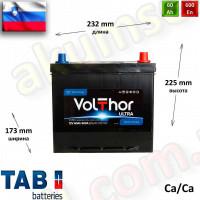 TAB Volthor ULTRA 60Ah R+ 600A (ASIA)