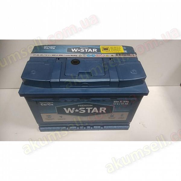 W-STAR 77Ah R+ 800A