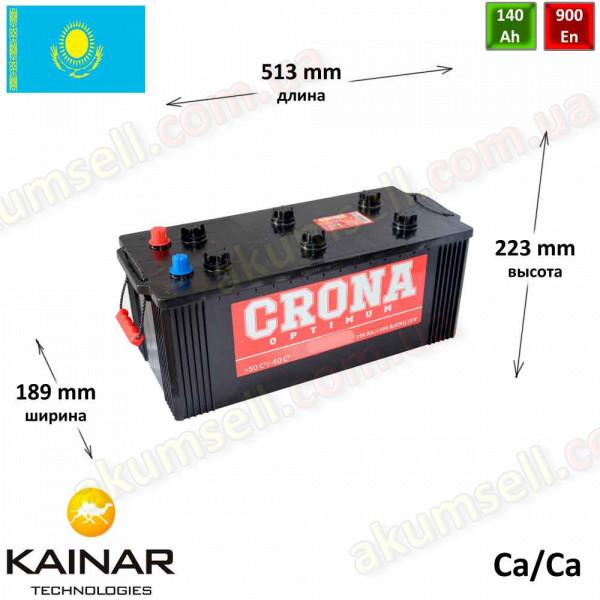 CRONA 140Ah L+ 900A