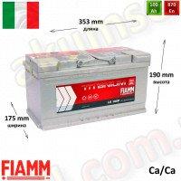 FIAMM Titanium Pro 100Ah R+ 870A
