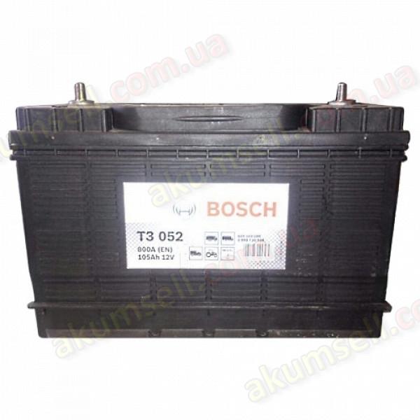 BOSCH T3  (052) 105Ah L+ 800A (USA шпилька клеммы по центру)