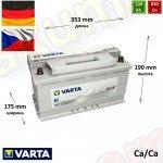 VARTA Silver (H3) 100Ah R+ 830A