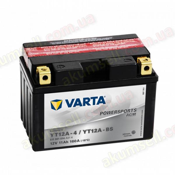 VARTA 11Ah L+ 160A (AGM)